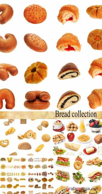 Stock Photo: Bread collection