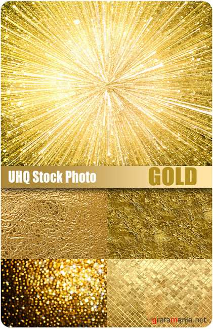 UHQ Stock Photo - Gold