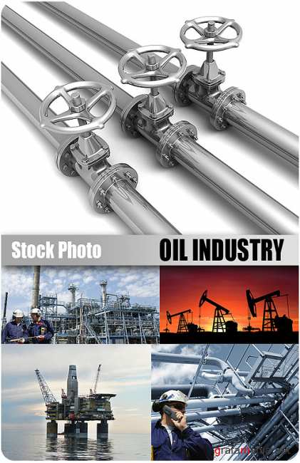 UHQ Stock Photo - Oil Industry