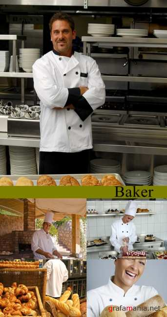 Stock Photo:Baker