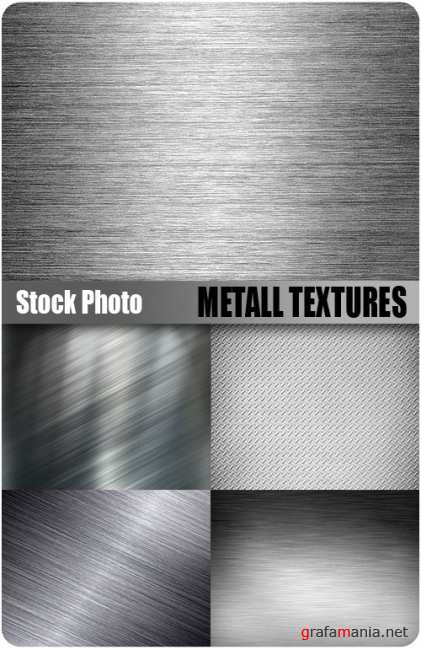 UHQ Stock Photo - Metall Textures
