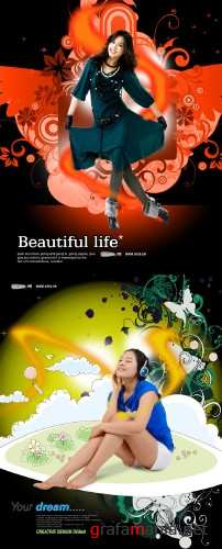 Beautifull Life PSD 3