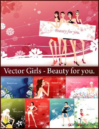 Vector Girls - Beauty for you