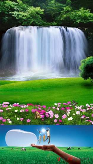 Waterfall and Field PSD