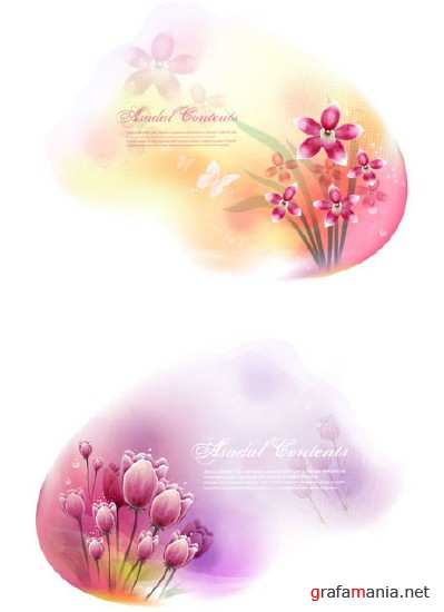 Two Flower Background