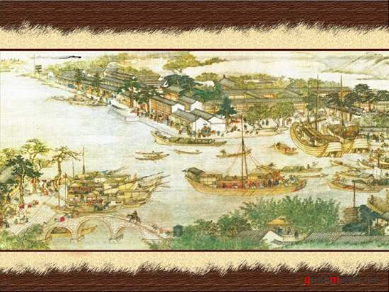 Painting - Chinese Port PSD