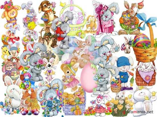 Collection of Hares PSD