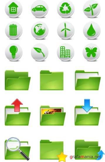 Folders and Nature Icons