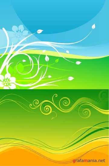 Two Vector Background