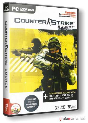 Counter-Strike: Source v1.0.0.42.4260 (2010/RUS/ENG) RePack от R.G. ReCoding
