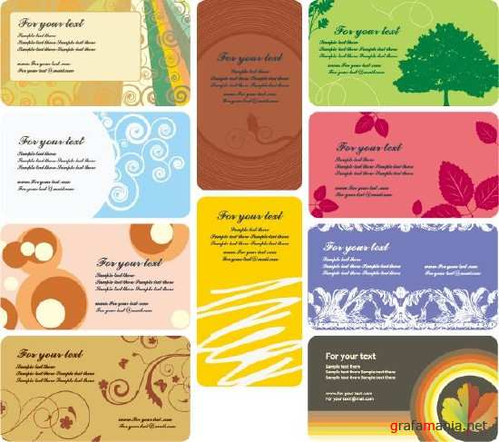 Vector Business Card Mix