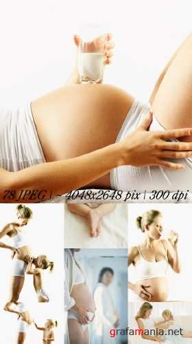 Stock Photos - Pregnant Women
