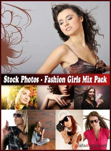 Stock Photos - Fashion Girls Mix Pack