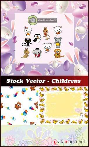 Stock Vector - Childrens