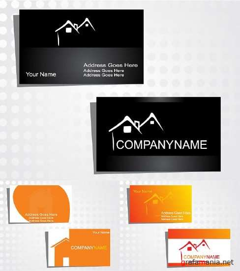 Business cards for the company