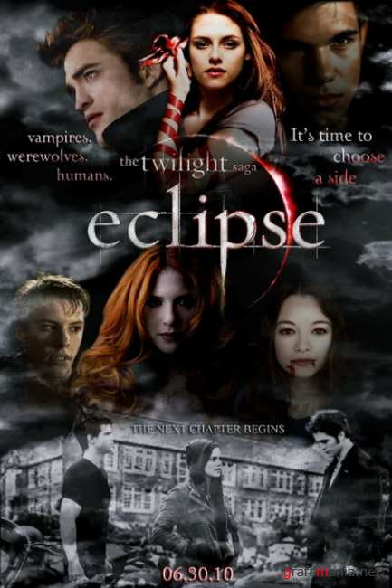 Сумерки. Сага. Затмение / The Twilight Saga: Eclipse (2010/CAMRip/PROPER/1400MB/700MB)