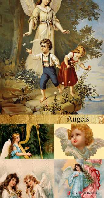 Stock Photo: Angels