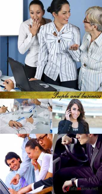 Stock Photo:People and business