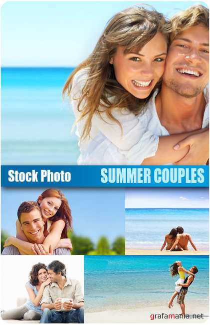 UHQ Stock Photo - Summer Couples