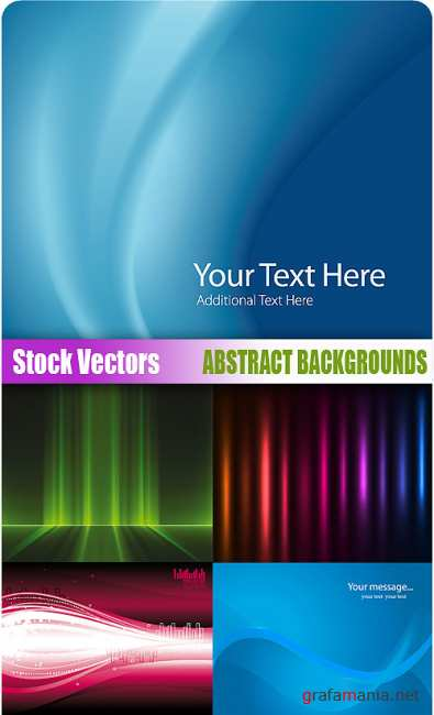 Stock Vectors - Abstract backgrounds