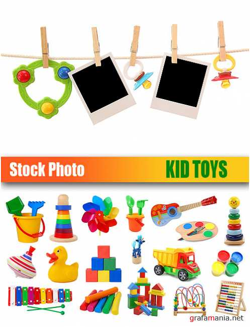 Stock Photo - Kid Toys