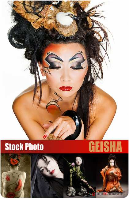 UHQ Stock Photo - Geisha