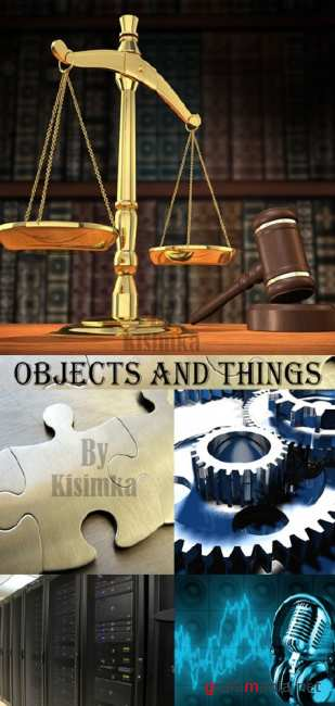 Stock Photo: Objects and things