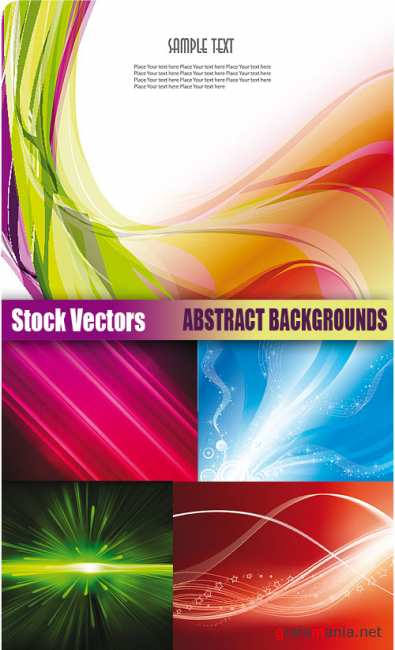 Stock Vectors - Abstract backgrounds 2