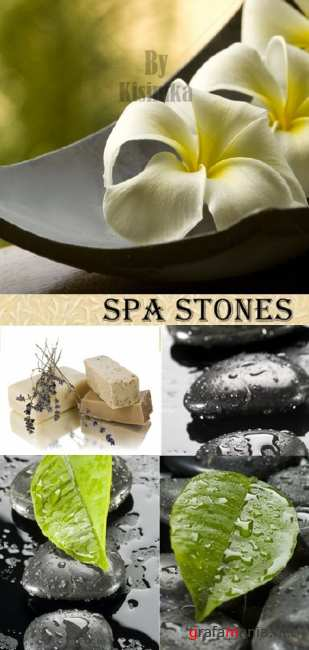 Stock Photo: Spa stones