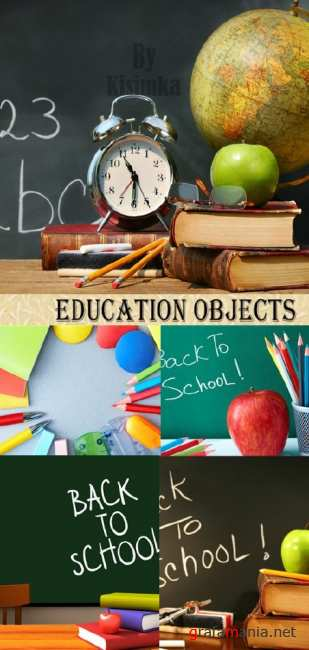 Stock Photo: Education objects