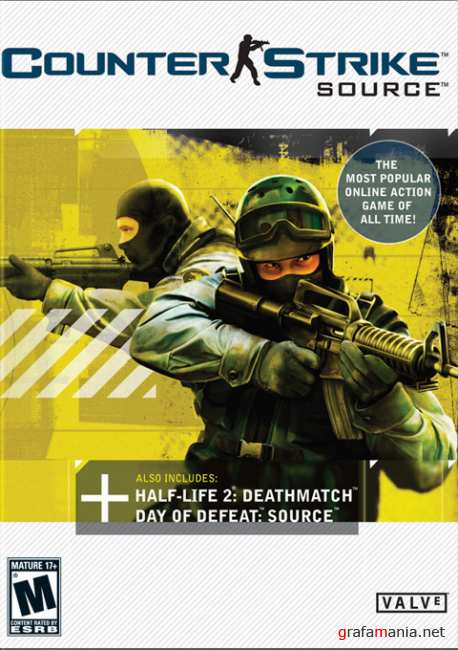 Counter-Strike: Source v.1.0.0.44.4274 (2010/PC/RUS/ENG/RePack by R.G. ReCoding)