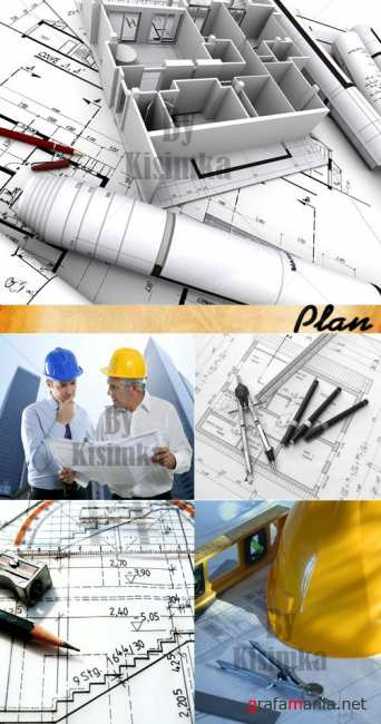 Stock Photo: Plan