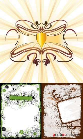 Vector Backgrounds-Frames