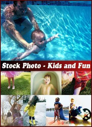 Stock Photo - Kids and Fun