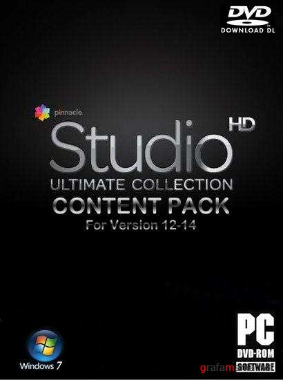 Pinnacle Studio Content Pack #17 For Version 12-14 (2010/ENG/RUS) DVD5
