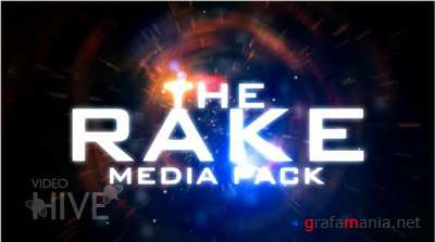 After Effects Project - The Rake Media Pack