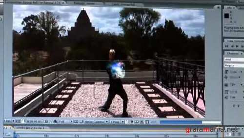 Kung Fu Arlo Energy Ball / After effects Tutorial / 2009 / ENG
