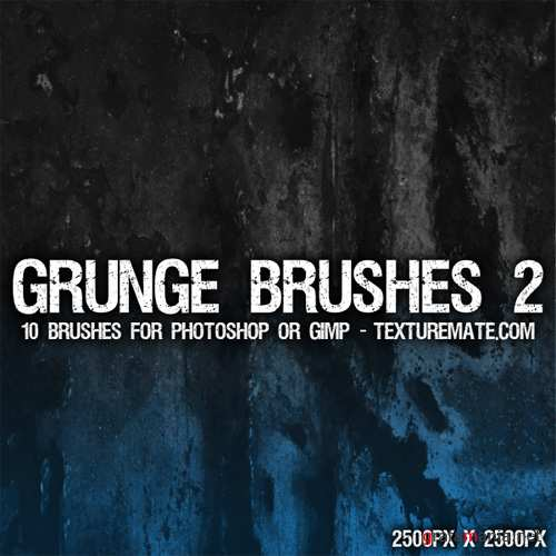 Grunge Brushes 2 for Photoshop