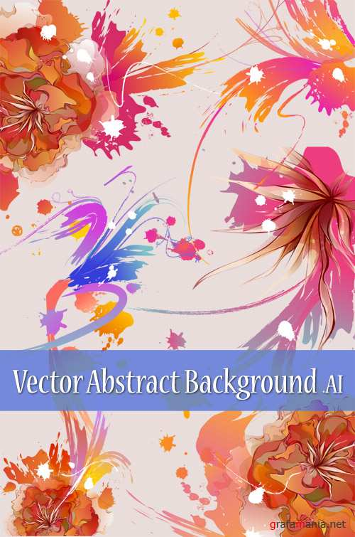 Vector Abstract Background - ��������� ����������� ���