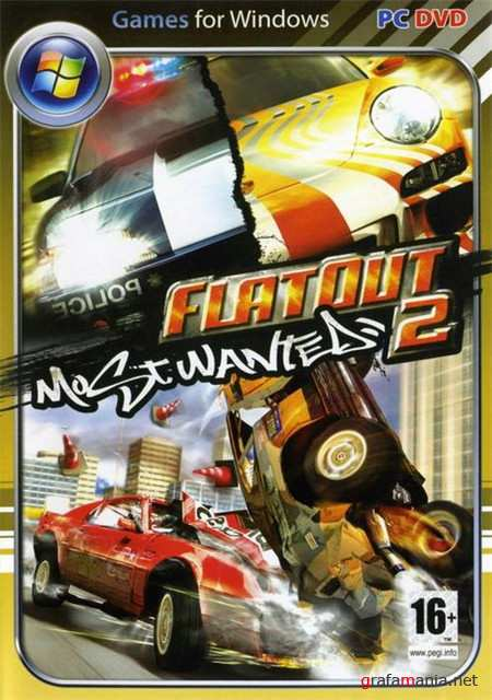 FlatOut 2 Most Wanted v.1.2 (2009/PC/RePack 1.9GB)