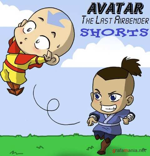 Аватар: Легенда об Аанге / Avatar: The Last Airbender - Shorts (2008/DVDRip)