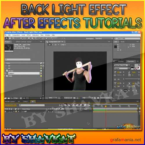 Back light effect on the Footage - 2009