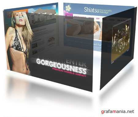 Flash Site Templates Mix 8