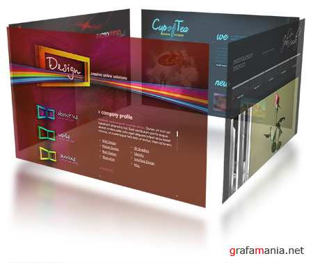 Flash Site Templates Mix 9