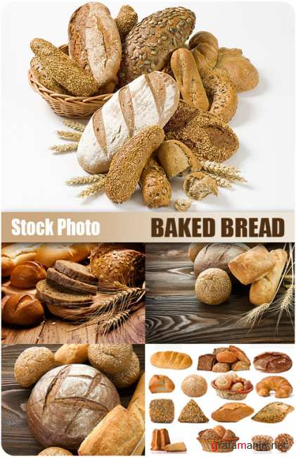 UHQ Stock Photo - Baked Bread
