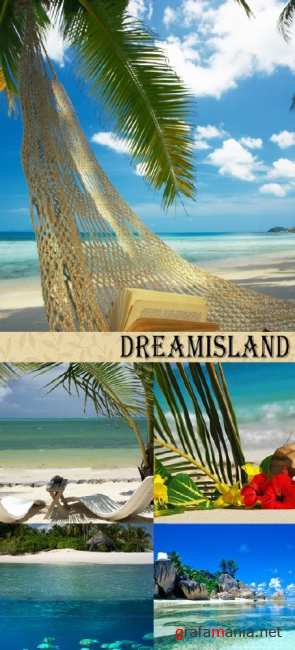 Stock Photo: Dreamisland