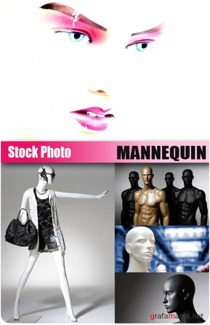 UHQ Stock Photo - Mannequin