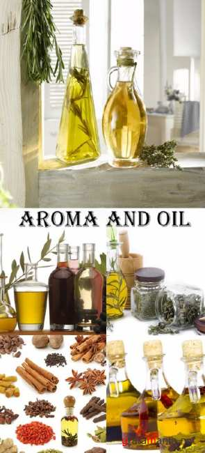 Stock Photo: aroma and oil