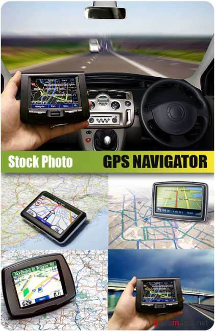 UHQ Stock Photo - Gps Navigator