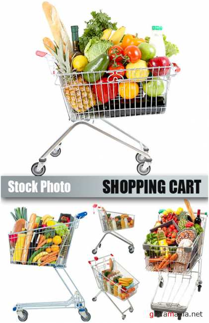 Stock Photo - Shopping cart